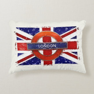 London, England, Great Britain, Union Jack, Flagge Accent Pillow