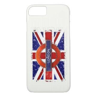 London, England, Great Britain, Union Jack, Flagge iPhone 8/7 Case