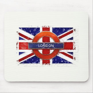 London, England, Great Britain, Union Jack, Flagge Mouse Pad