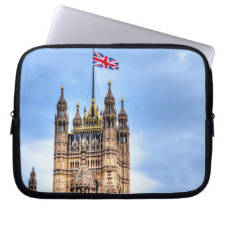 London, England Landmarks & Icons Laptop Computer Sleeves