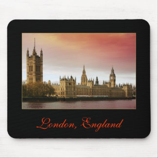 London, England Mouse Pad