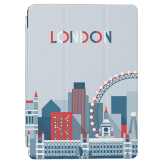 London, England | Red, White and Blue Skyline iPad Air Cover