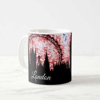 London England Silhouette Coffee Mug
