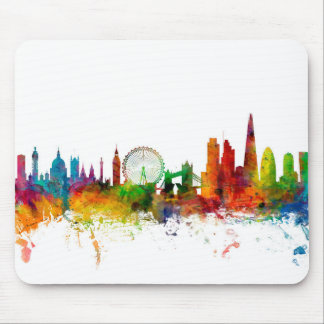 London England Skyline Mouse Pad