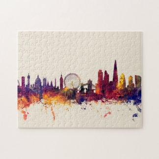 London England Skyline Puzzle