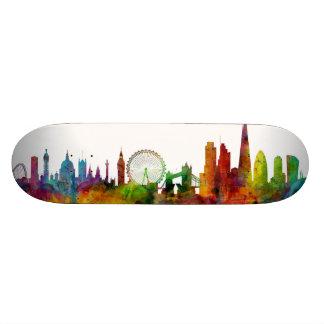 London England Skyline Skateboard Deck