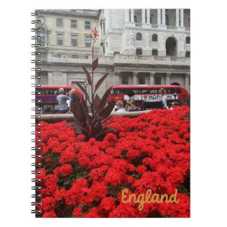 London England Spiral Notebook