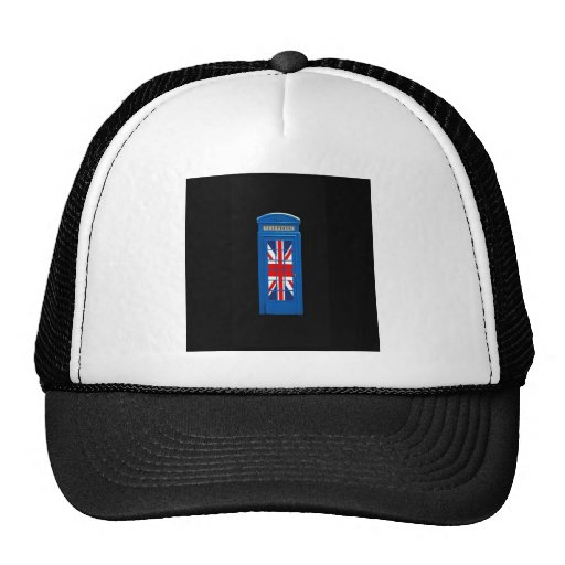 London England telephone box Hats