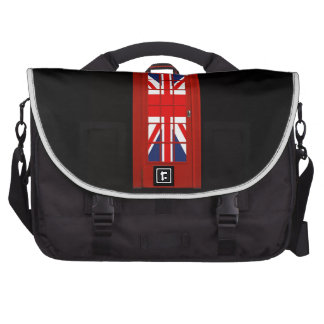 London England telephone box Commuter Bags