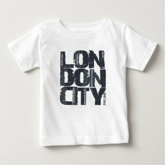 London, England Typography Baby T-Shirt