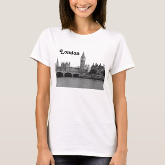 London England UK Skyline Etched T-Shirt