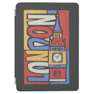 London, England | Vibrant Handrawn Design iPad Air Cover