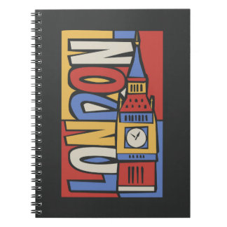 London, England | Vibrant Handrawn Design Notebooks