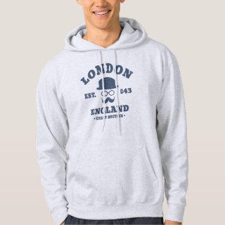 London England - Vintage Hipster Hoodie