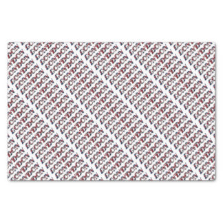 London English Flag Colors England Typography Tissue Paper
