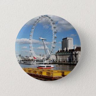 London Eye 2 Inch Round Button