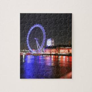 London Eye at Night Jigsaw Puzzle