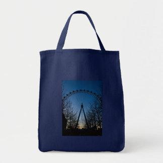 London Eye at Twilight Bags