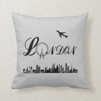 London Eye British Theme Pillow/Cushion Throw Pillow