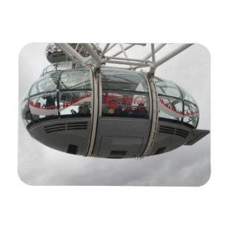"London Eye Cabin 3""x4"" Magnet"
