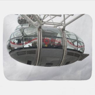 London Eye Cabin Baby Blanket