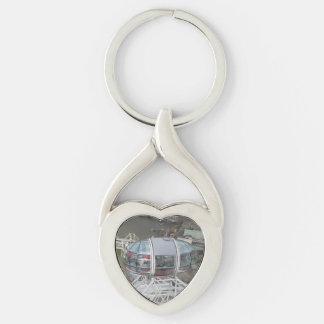 London Eye Cabin Heart Keychain