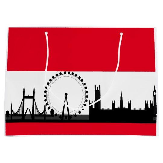 London Eye City Ferris Wheel England Gift Bag