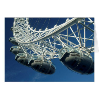 London Eye Ferris Wheel Card