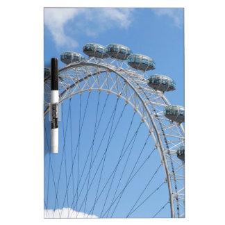London eye ferris wheel dry erase whiteboard