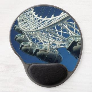 London Eye Ferris Wheel Gel Mouse Pad