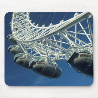 London Eye Ferris Wheel Mouse Pad