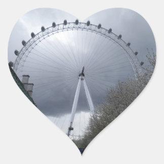 London Eye Heart Sticker