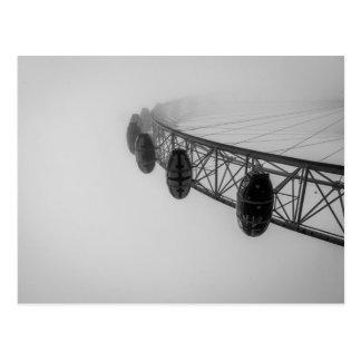 London Eye in Thick Fog Postcard