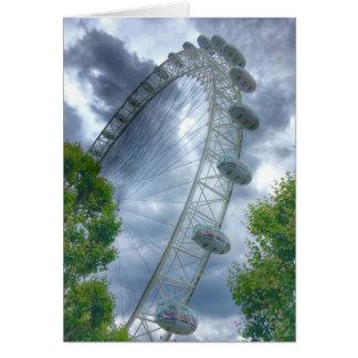 London Eye Landmark Greetings Card