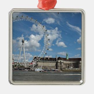 London Eye Metal Ornament