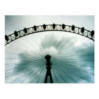 London Eye Millennium Wheel, England Postcard
