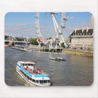 London Eye Mouse Pads