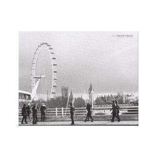 "London Eye on a 14"" x 11"", 1.5"" canvas"
