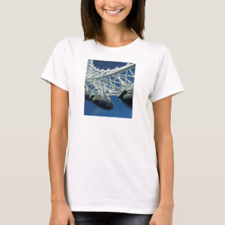 London Eye on Thames T-Shirt
