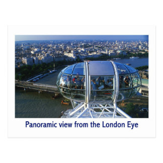 london eye postcard 17