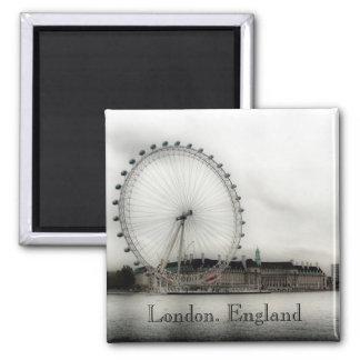 London Eye Square Magnet