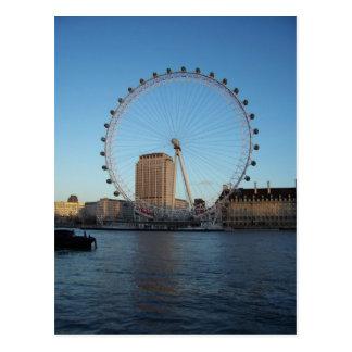 London Eye & Thames Postcard
