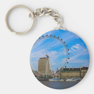 London Eye United Kingdom Keychain