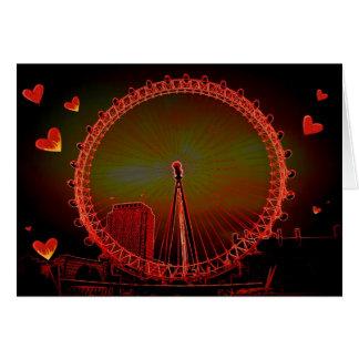 London Eye Valentine Card