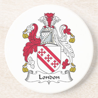 London Family Crest Coaster