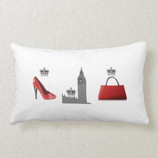 London Fashion Big Ben Pillow