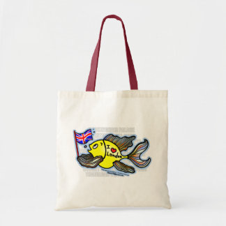 London Fish Tote Bag