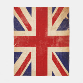 LONDON FLAG FLEECE BLANKET