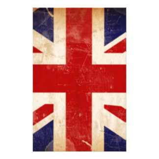 LONDON FLAG STATIONERY DESIGN