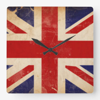 LONDON FLAG WALL CLOCK
